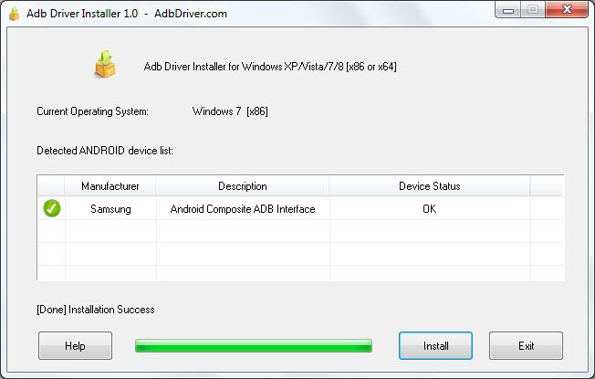 Download ADB Driver Installer