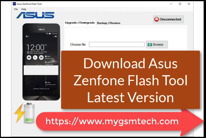 Download Asus Flash Tool
