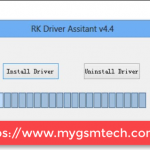 RockChip Driver Assistant Screenshot